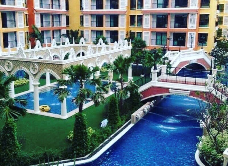 Venetian Pattaya - 1 Bedroom For Sale  - Condominium - Na Jomtien Beach -