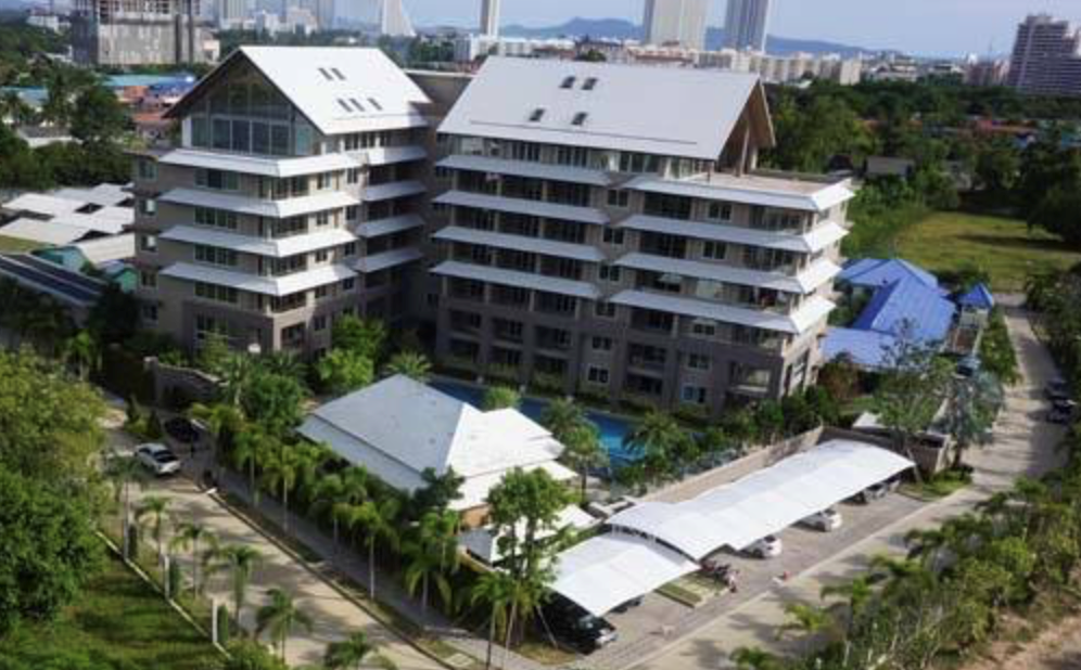 Nathanicha Residence - 2 BR corner for sale by AUCTION - Condominium - Jomtien -