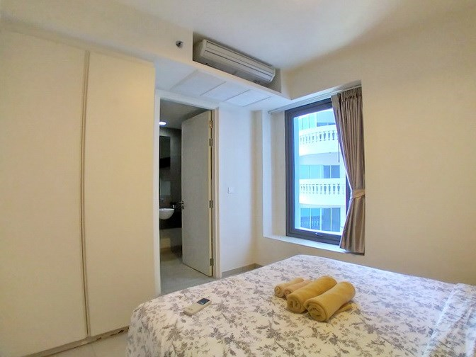 Condominium for rent Wong Amat Pattaya showing the second bedroom suite